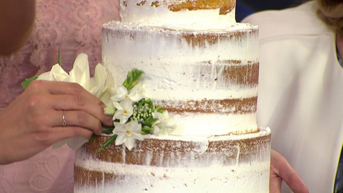 Wedding Cake Recipe.Royal Wedding Cake Recipe