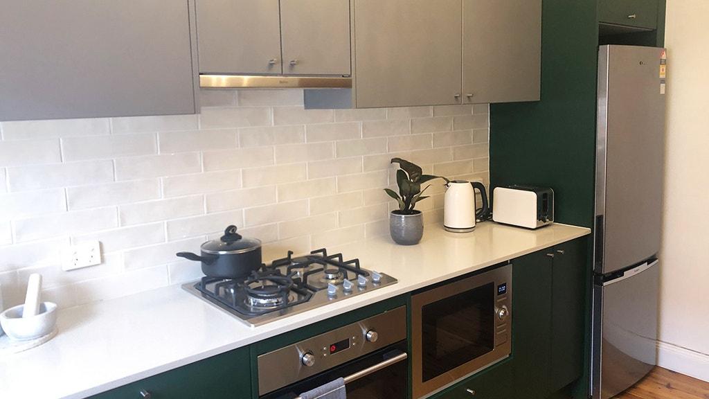 Kitchen Reno Modern Meets Art Deco Network Ten