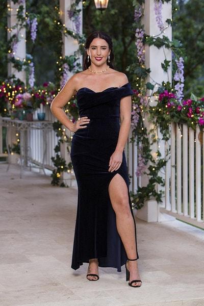 Jessie Ashley - Dark Blue Sequin Beaded Dress - Bachelor Australia - Matt Agnew - Season 7 - *Sleuthing Spoilers* 51a405f14fcfb5b402988fbac9afb4b1-542121