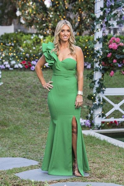 Tash - Green Ruffled One-Shoulder Dress/Dark Blonde - Bachelor Australia - Matt Agnew - Season 7 - *Sleuthing Spoilers* 680602412d9872f39ea049e30fe79a9d-542142