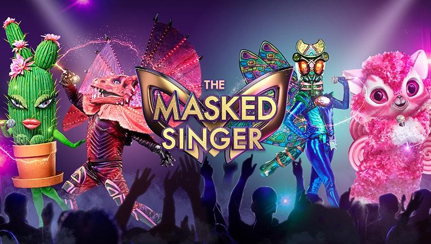 The Masks | The Masked Singer Australia - Network Ten