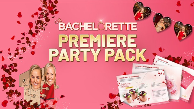The Bachelorette Australia Season 6 Premiere Party Pack Network Ten